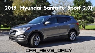 Drive Review Part 2 - 2015 Hyundai Santa Fe Sport 2.0T Ultimate