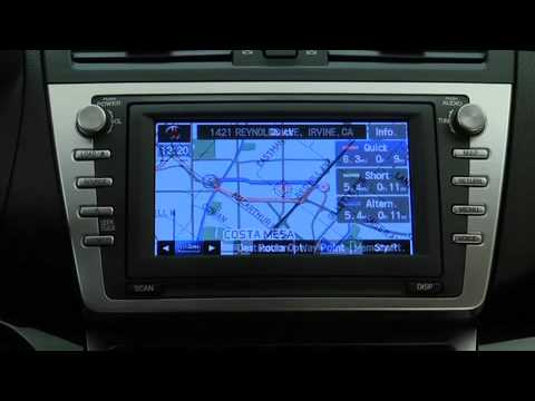 2012 2009 Mazda 6 Dvd Navigation System Tutorial Youtube