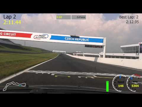 Autodrom Most - 7.9.2014 - Mazda 6 - 3rd Run