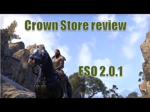 Crown Store review for The Elder Scrolls Online