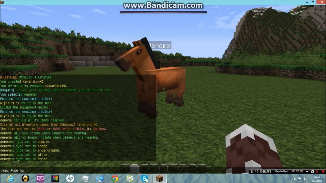 minecraft npc plugin how to use