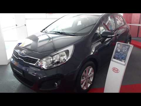 2014 Kia Rio Spice Hatchback 2014 al 2015 video versión Colombia