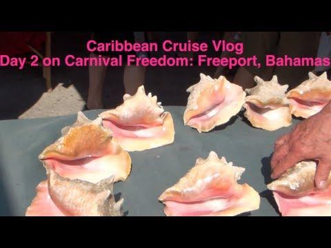 Carnival Freedom Cruise Vlog: Day 2 Freeport, Bahamas
