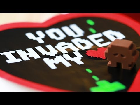 SPACE INVADERS CHOCOLATES - NERDY NUMMIES