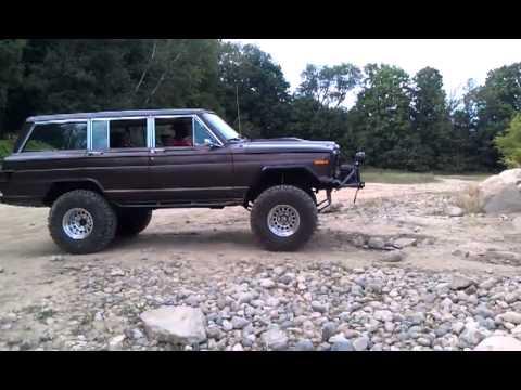 Wagon 1977 1977 Jeep Wagoneer Wall Climb