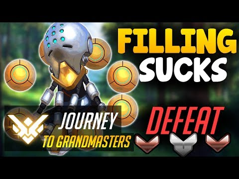 DON'T FILL IN COMPETITIVE!! | Journey To Grandmasters | Overwatch Competitive