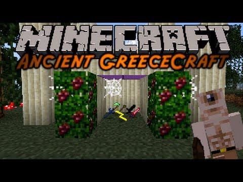 Minecraft Mod Showcase : Ancient GreeceCraft!