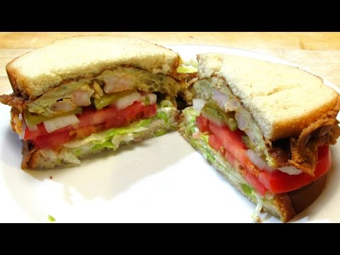 St. Paul Sandwich - Chinese Egg Foo Young Sandwich!