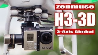 DJI Phantom 2 with Zenmuse H3-3D 3-Axis Gimbal - HeliPal.com
