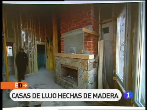 Reportaje de España Directo sobre casas canadienses de Canexel Const.