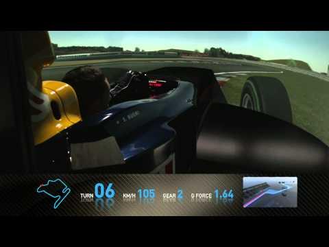Track Simulation Budapest - Sebastien Buemi