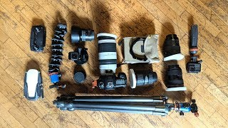 What's in my Camera Bag? ALL My Travel Photography gear!