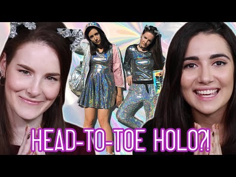 We Got A Head-To-Toe Holographic Transformation (feat. Simply Nailogical)