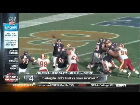 Cal Bears in the NFL - Herm Edwards Top 5 plays of 2010