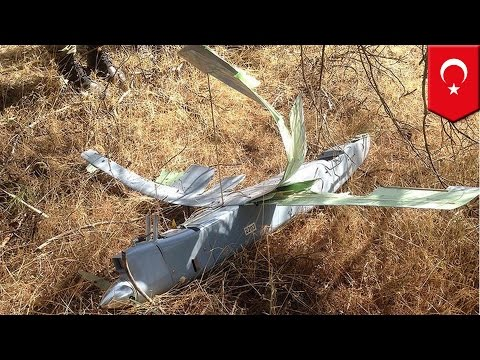 Turkey shoots down drone near Syria border: Turkish warplanes take down drone by border - TomoNews