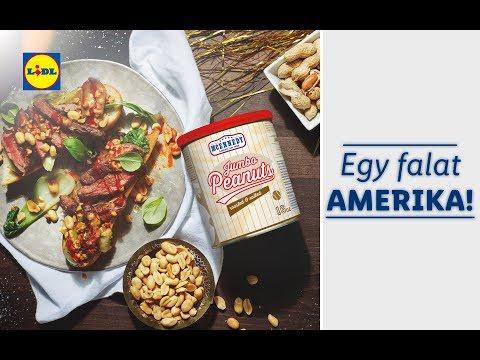 Amerikai ízek hete 10.14-től | Lidl