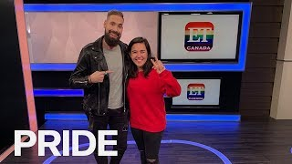 Elle Mills Talks YouTube Success, Mental Health, Coming Out & LGBTQ+ Pride | ET CANADA PRIDE