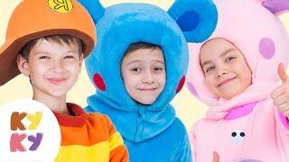 КУКУТИКИ - ПАПА - Развивающая песенка мультик для детей малышей про папу