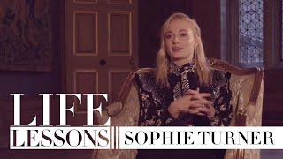 Life lessons with Sophie Turner: saying goodbye to Sansa Stark and advice from Priyanka Chopra