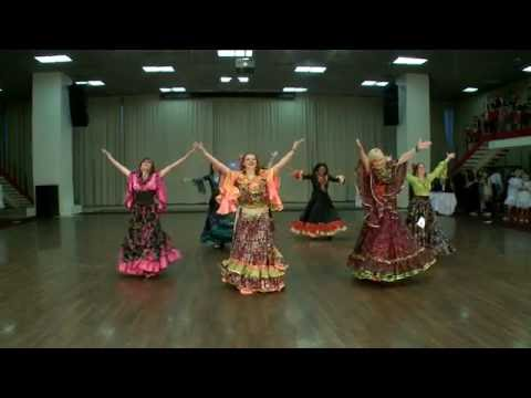 """Цыганский танец """"Венгерка"""". Школа танцев """"Экспромт""""."""