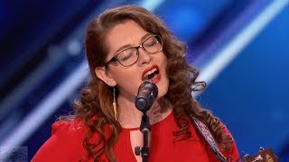 America 39 S Got Talent 2017 Mandy Harvey Deaf Singer Songwriter Inspires Simon All To Try Full