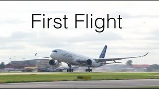 Airbus A350XWB: First flight