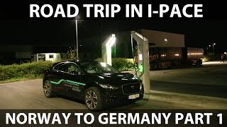 #52 Jaguar I-Pace from Norway to Germany part 1