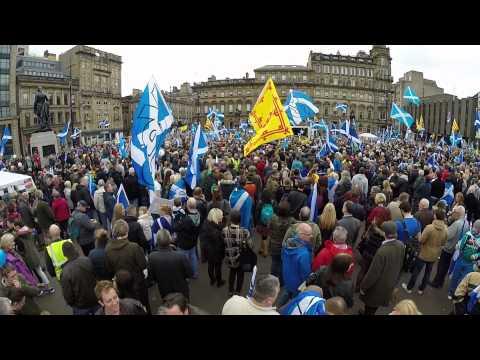 Glasgow Hope Over Fear Rally
