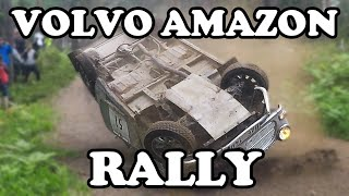 Volvo Amazon Rallying | Crashes - Action!