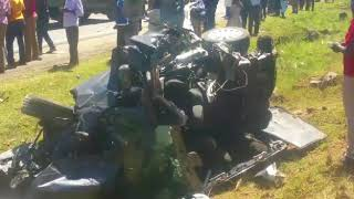 Several feared dead - Sachangwan Road Accident