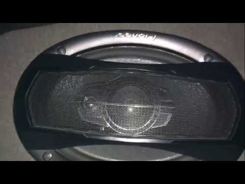 PIoneer Car Speakers Review and How to Wire Car Speakers  (Pioneer TS-A935H)