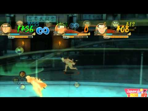 Naruto Shippuden Ultimate Ninja Storm Revolution - Ninja World Tournament Gameplay