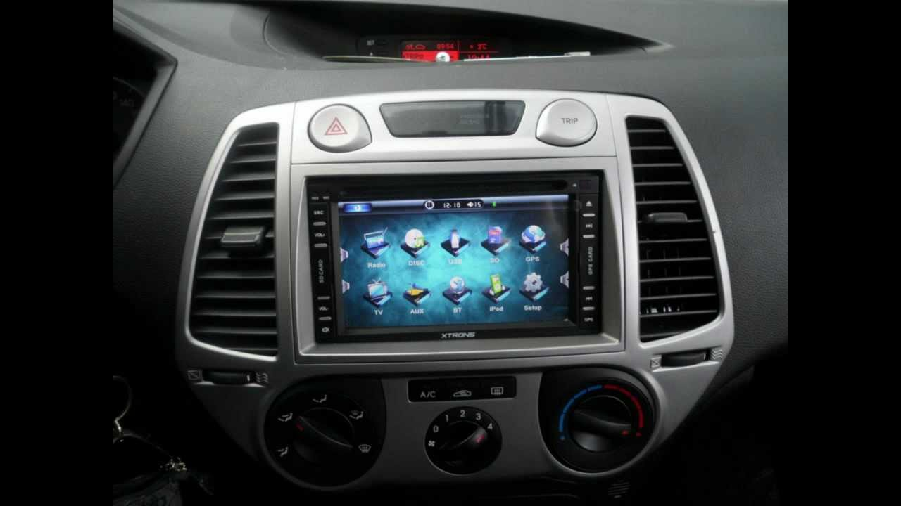 Tutorial Autoradio Due Din Hyundai I20 Youtube