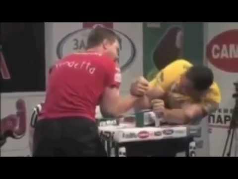 John Brzenk - El mejor pulseador de la historia (lucha de brazos)