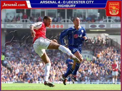 ARSENAL AWAY BOYZ - Thierry Henry 1999-2007 Arsenal