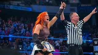 Becky Lynch becomes the first SmackDown Women's Champion: WWE Backlash 2016