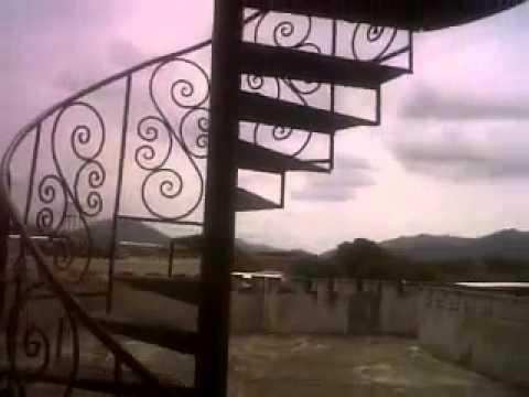 Escalera de caracol y pasamanos hierro forjado youtube - Pasamanos de escalera ...