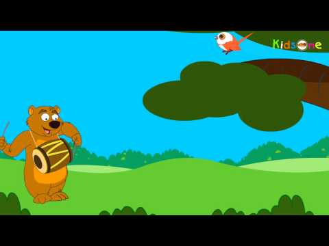 Chu Chu Karti Aayi Chidiya || Hindi Animated Rhymes for Kids