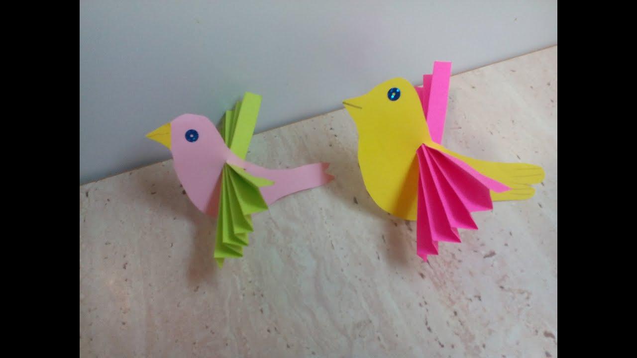 Как сделать с птичками