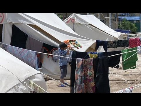 Iraq: UN team visits camp for families who have fled Ramadi fighting