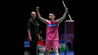 LEE CHONG WEI AMAZING RALLIES VS CHOU TIEN CHEN | SF ALL ENGLAND 2017