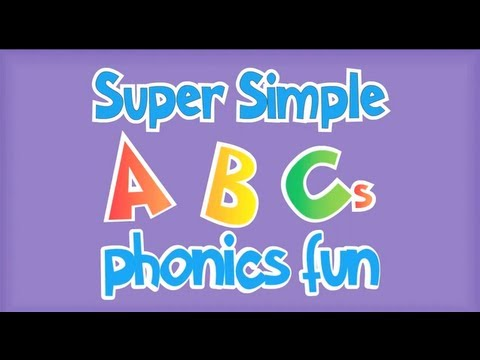 Super Simple ABCs Phonics Song: R - Z