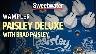 Wampler Paisley Drive Deluxe Demo with Brad Paisley