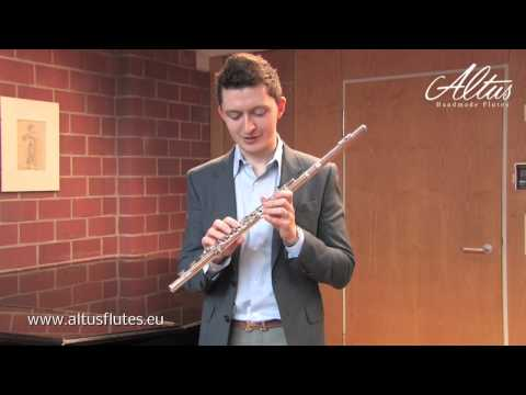 Denis Bouriakov speaks about his ALTUS PS flute