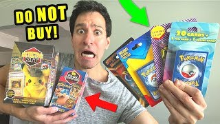 Opening EVERY 3rd Party Pokemon Cards Boxes from TARGET & WALMART!