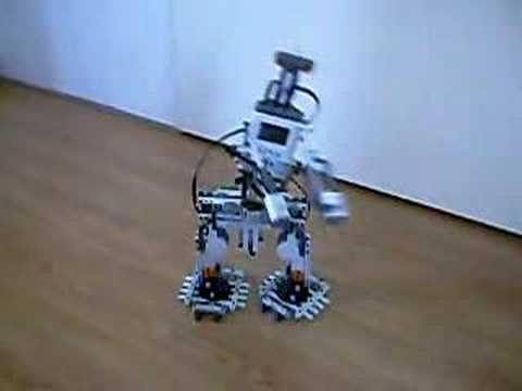 Drunk LEGO Robot: Mindstorms NXT Biped Walker