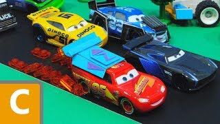Cars 3 : Lightning McQueen's Zet Turbo Engine! - StopMotion