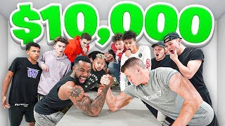 2HYPE & Overtime TW Arm Wrestle Competition! Winner Gets $10,000!