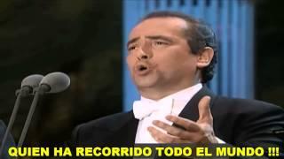 Los 3 Tenores Torna A Surriento Subtitulada Español Hd Los Ángeles 1994