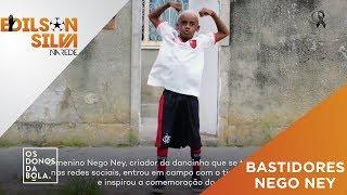 Nego Ney nos bastidores da vitória do Flamengo! Nélio aprimora a dança